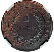 2 Centavos (Essai) – reverse