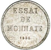 1 Centavo (Essai) – reverse