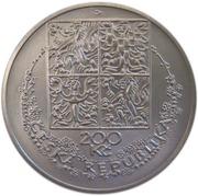 200 Korun (Karel Svolinský) – obverse