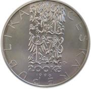 200 Korun (Jean-Baptiste Gaspard Deburau) – obverse