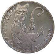 200 Korun (Death of St. Adalbert) – reverse