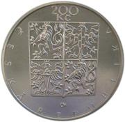 200 Korun (František Palacký) – obverse
