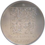200 Korun (Vítězslav Nezval) – obverse