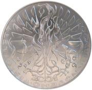 200 Korun (New Millennium) – reverse