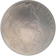 200 Korun (Jaroslav  Seifert) – reverse