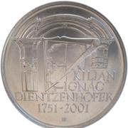 200 Korun (Kilián Ignác Dientzenhofer) – reverse