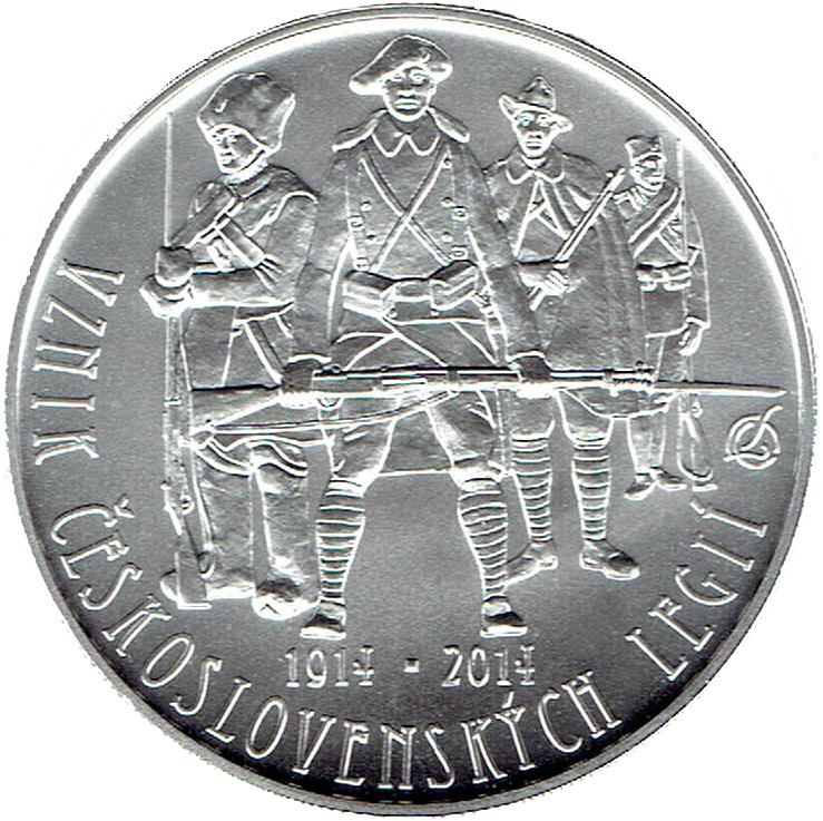 200 CZK Korun Bohemian Adventurer KRYSTOF HARANT 2014 Czech PROOF Silver Coin