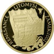 2000 Korun (Renaissance - Castle in Litomyšl) -  obverse