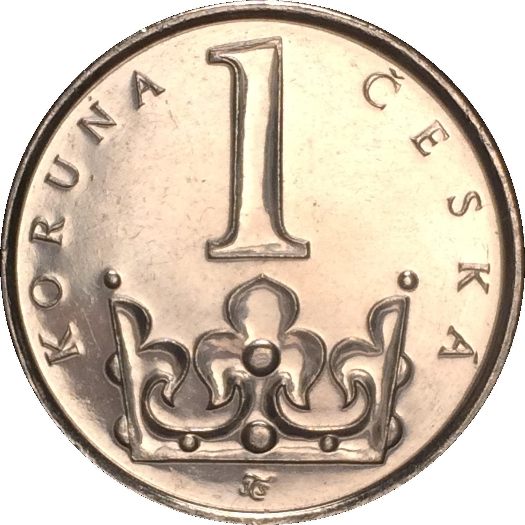 CZECH  REPUBLIC   1 Koruna   1995   UNC  *