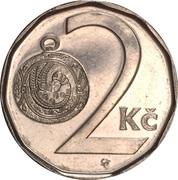 2 Koruny -  reverse
