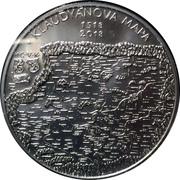200 Korun (Klaudyán map) – reverse