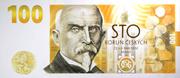 100 Korun Alois Rašín – obverse
