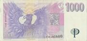 1000 Korun -  reverse