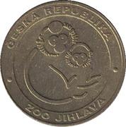 Token - Zoo Jihlava (Fenek) – reverse