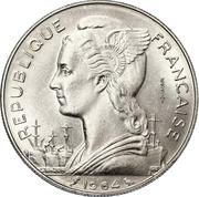 100 Francs (Essai) – obverse