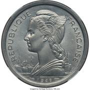 2 Francs (Piedfort Essai) – obverse