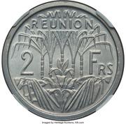 2 Francs (Piedfort Essai) – reverse
