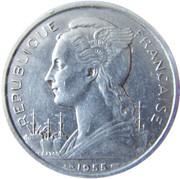 5 Francs – obverse