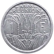 1 Franc (Mule Issue) – reverse