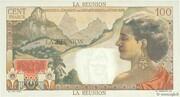 100 Francs La Bourdonnais – reverse