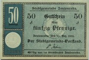 50 Pfennig (Zeulenroda) -  obverse