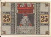 25 Pfennig (Zeulenroda) – reverse