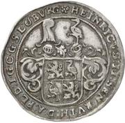 ¼ Thaler - Heinrich II. (Death) – obverse