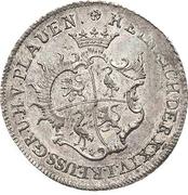 ⅓ Thaler - Heinrich XXIV. – obverse