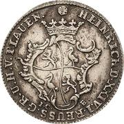 1/12 Thaler - Heinrich XXIV. – obverse