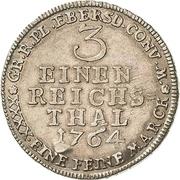 ⅓ Thaler - Heinrich XXIV. – reverse