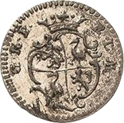 1 Pfennig - Heinrich XXIV. – obverse