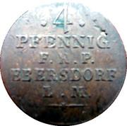 4 Pfennig - Heinrich LI – reverse