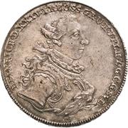1 Thaler - Heinrich XXIV. (Konventionstaler) – obverse