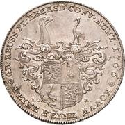 1 Thaler - Heinrich XXIV. (Konventionstaler) – reverse