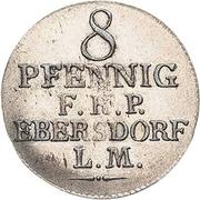8 Pfennig - Heinrich LI. – reverse