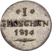1 Groschen - Heinrich LI – reverse