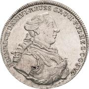 ⅔ Thaler - Heinrich XXIV – obverse
