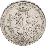 ⅔ Thaler - Heinrich XXIV – reverse