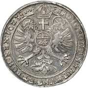 1 Thaler - Heinrich II. (Lobenstein; Posthumous) – reverse