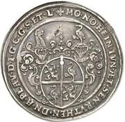1 Thaler - Heinrich der Jüngere (Kipper) – obverse