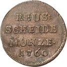 1 Pfennig - Heinrich II. – obverse
