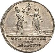 1 Doppelgroschen - Heinrich II (Marriage) – reverse