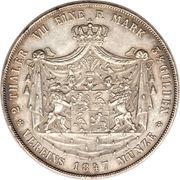 2 Thaler / 3½ Gulden - Heinrich LXXII – reverse