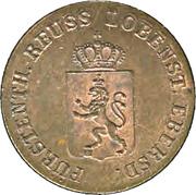 1 Pfennig - Heinrich LXXII – obverse