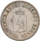½ Silbergroschen - Heinrich LXXII – obverse
