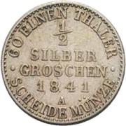 ½ Silbergroschen - Heinrich LXXII – reverse