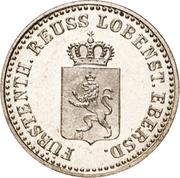 1 Silbergroschen - Heinrich LXXII – obverse