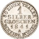 1 Silbergroschen - Heinrich LXXII – reverse