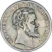 2 Mark - Heinrich XXII – obverse