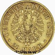 20 Mark - Heinrich XXII – reverse